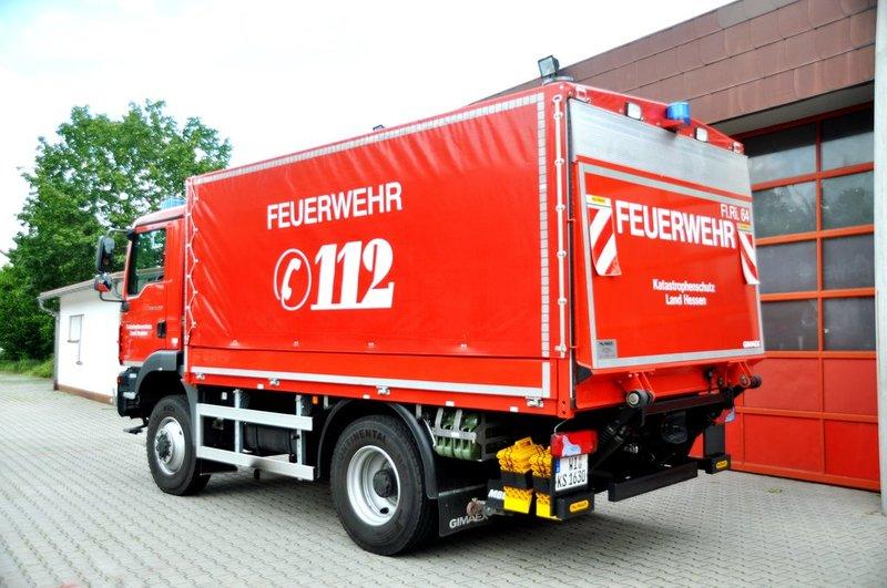 GW-Logistik: Freiwillige Feuerwehr Riedstadt